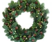 Laurel View Village Christmas wreath
