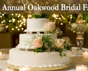 Bridal Fair October 18 at Oakwood Restaurant, Laurel View Village, Davidsville, PA