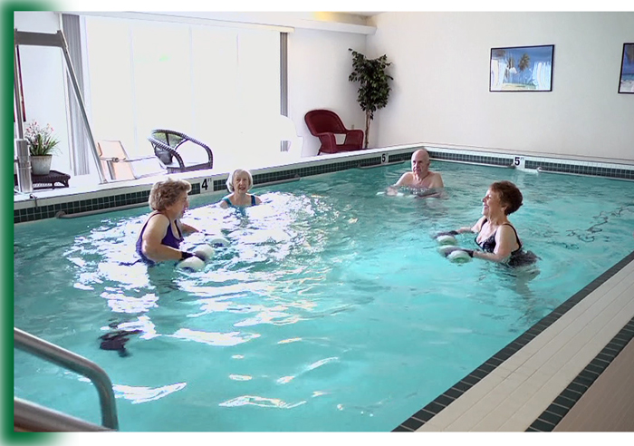 Therapeutic Pool at Laurel View Village, Davidsville, PA