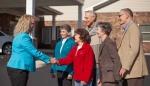 Residents Greet New CEO Michelle Rassler