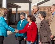 Residents Greet New CEO Michelle Rassler
