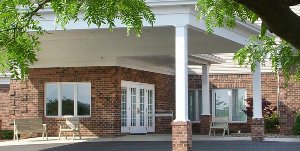 Entrance to Laurel VIew Village Vista Complex